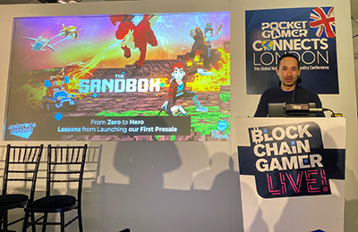 Speaker at Blockchain Gamers Connects Live in London
