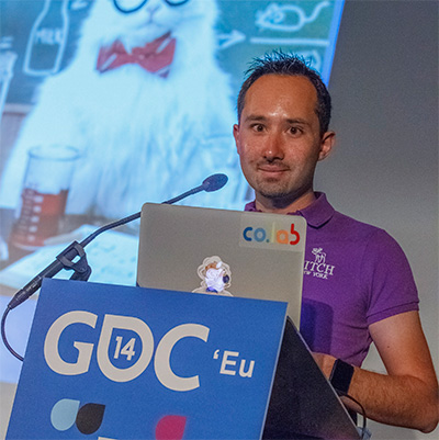 Speaker at GDC Europe 2014