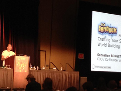 Speaker at GDC San Francisco 2014