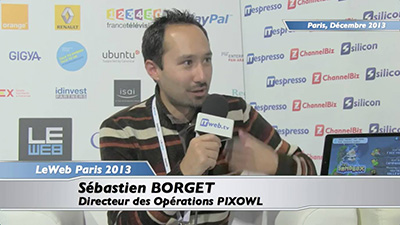 Interview at Le Web Paris 2013