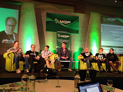 Speaker at Mobile Games Forum London 2014