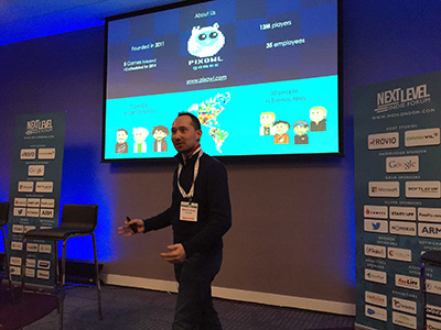 Speaker at Mobile Games Forum London 2015
