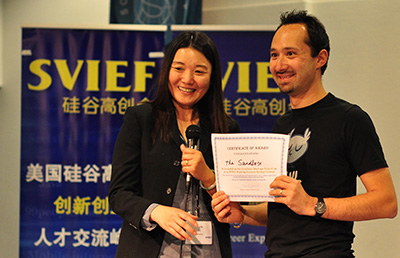 Pixowl receives prize for The Sandbox at SVIEF 2015